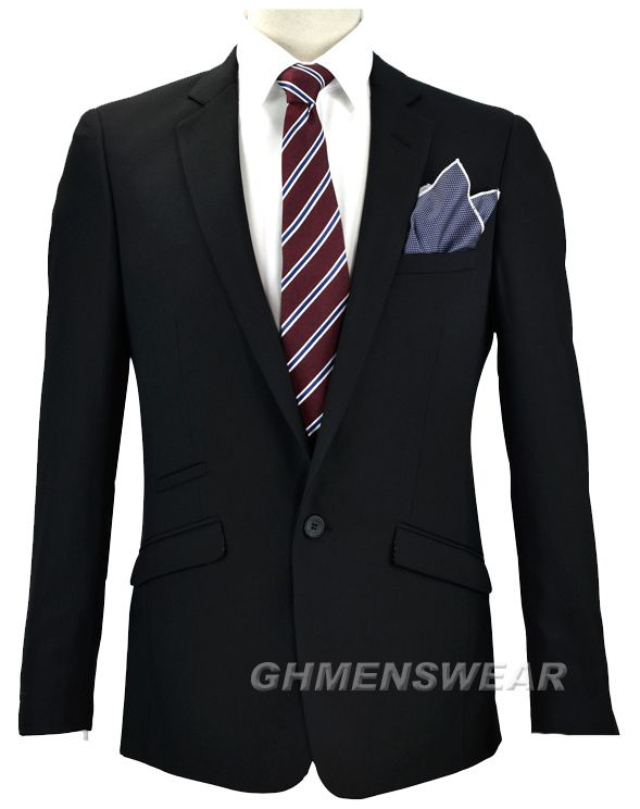 Cavani Felix Suit black 50 52 54 56 58 60 62 64 inch chest