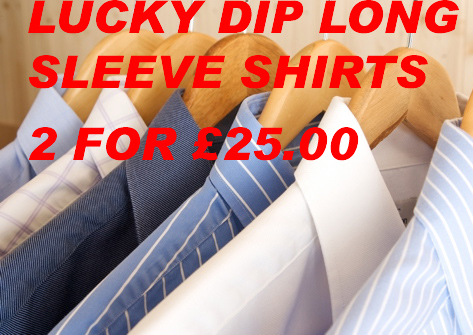 LUCKY DIP LONG SLEEVE SHIRTS (2 for £25)
