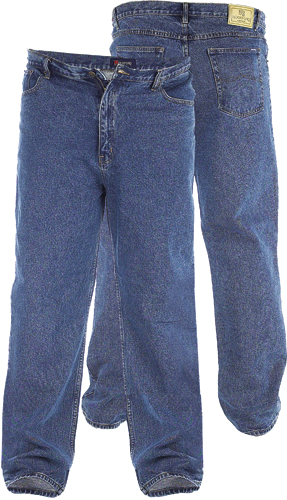 ROCKFORD STRETCH Jeans Blue Stonewash